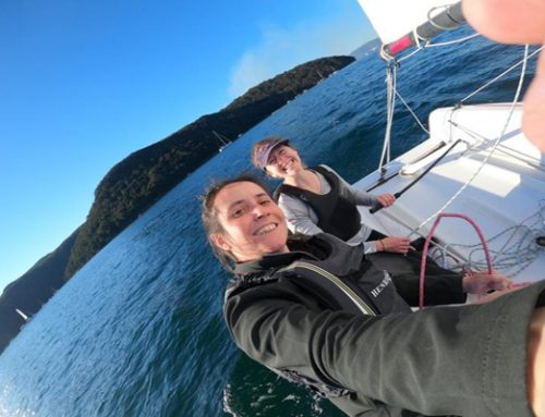 First ever all-female double-handed sailing team ready for Sydney To Hobart 2021!